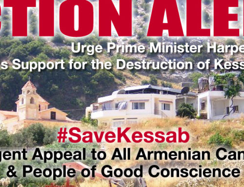 ** Action Alert to Save Kessab **