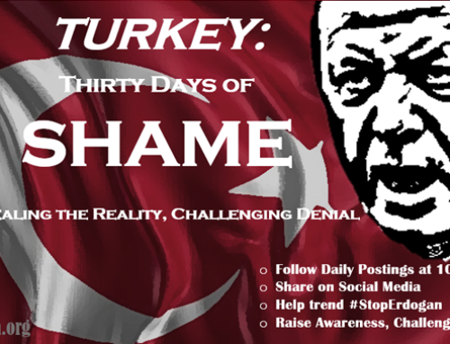 "ANCC Completes ""Turkey: Thirty Days of Shame"" Campaign"