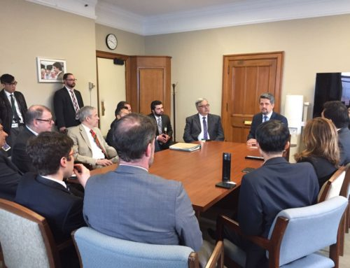 Turkish Parliamentarian Garo Paylan Meets With Parliamentarians in Ottawa
