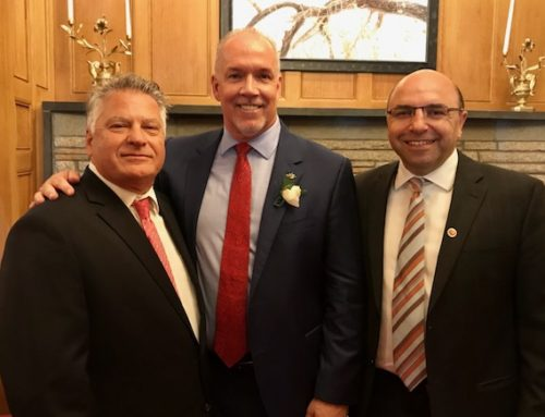 ANCC delegation attends BC Premier John Horgan's swearing-in ceremony at Government House in Victoria