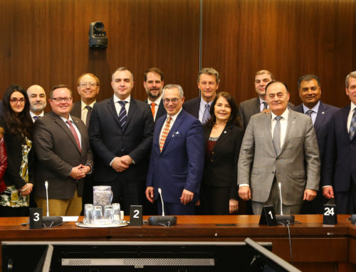 MP Bryan May Becomes Chair of the Canada-Armenia Parliamentary Friendship Group