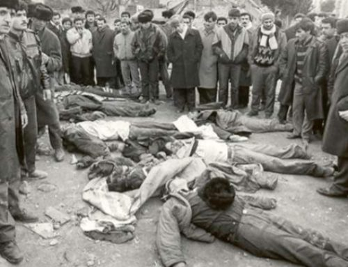 ANCC Statement on the 31st Anniversary of the Sumgait Massacre