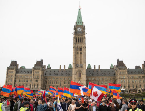 Thousands Commemorate the 103rd Anniversary of the Armenian Genocide in Ottawa