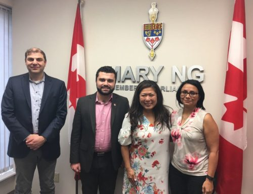 ANCC Representatives Met with the Minister of Small Business and Export Promotion, the Hon. Mary Ng