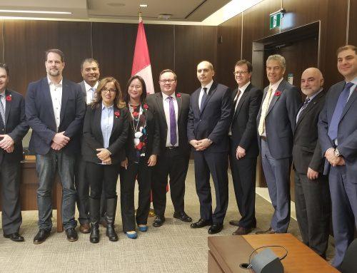 Canada-Armenia Parliamentary Friendship Group Meets in Ottawa