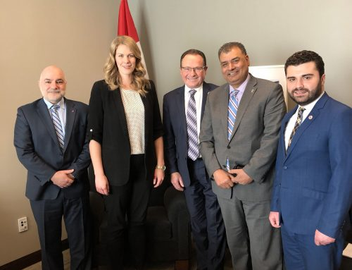 "The ""Parliamentary Friends of the People of Artsakh"" Holds its Inaugural Meeting in Ottawa"