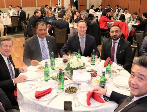 ANCC-ANCT Honour Elected Officials and Friends on Armenian Christmas